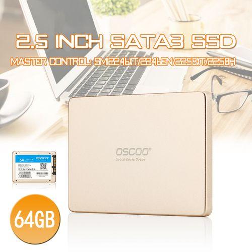 OSSCO 2.5'' 64GB SATAIII Internal Solid State Drive (SSD)