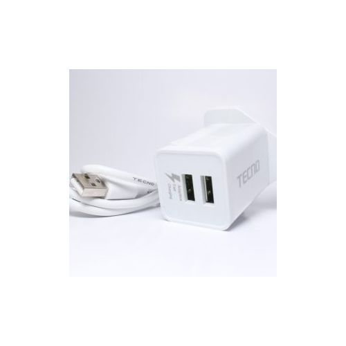 Dual USB Adaptive Fast Charger-3A