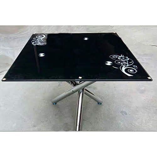 Square Dinning Table - Black