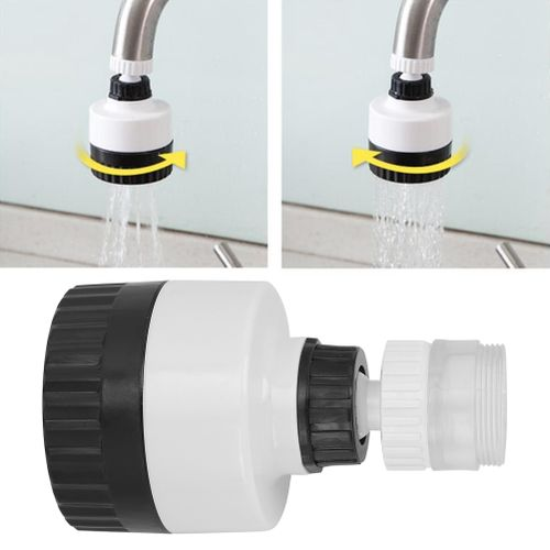 360 ° Rotatable Faucet Kitchen Faucet Filter Rotating Shower Tap Water Savager Kit