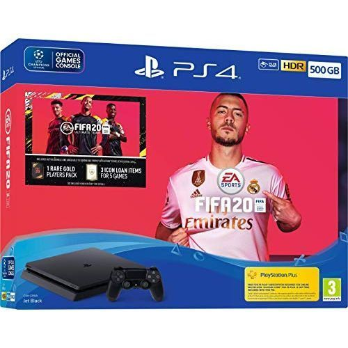 PS4 500GB +Extra Pad 10 Installed Games (FIFA20+ GTA5+New God Of War+car Race + Mortal Kombact +other Games) With Master Psn Account To Go Online Without Restriction (enjoy Ur Online Feature Games