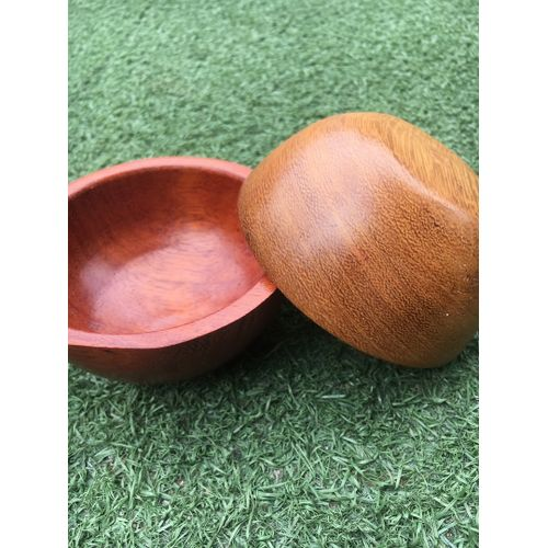 Hand Carved Wooden Bowls And Jewellry Case