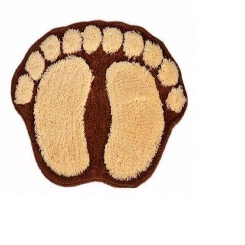 A- Foot Shaped Door Mat
