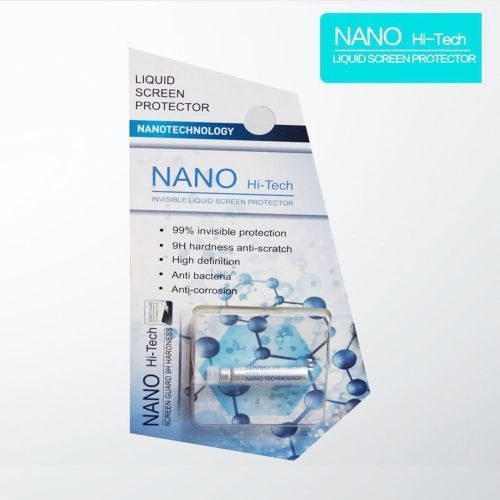 Nano Liquid Screen Protector Broad Hi-Tech 9H Screen Protector For Smartphones / Curved Screens / Tablets / Watches 1ml
