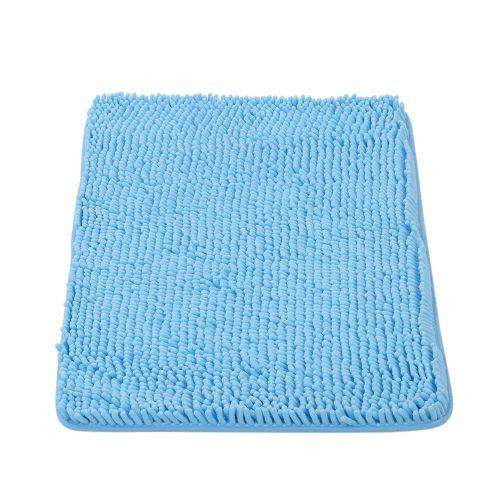 Absorbent Shaggy Shower Mat Bathmat Bath Toilet Rug Grey