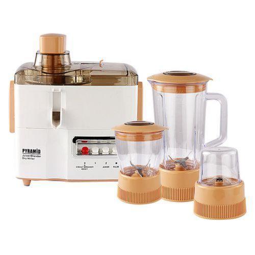 4 In 1 Juicer, Blender, Grinder And Mill-600W