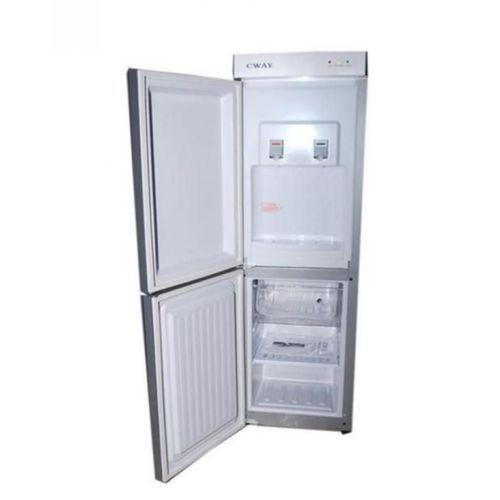 Double Door Water Dispenser With Fridge -