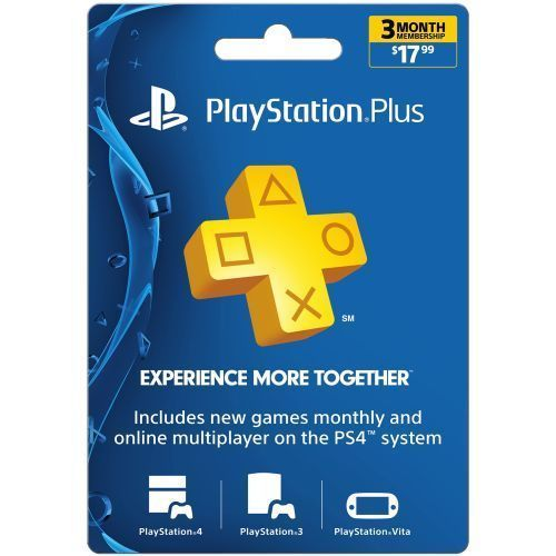 PSN Playstation Plus 3 Month Subscription Code