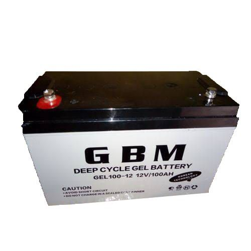 12volts 100amps Deep Cycle Gel Battery