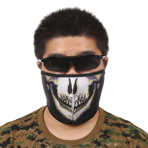 Breathable Half Mask Shield Face Mask For Cycling