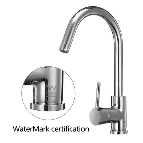 Kitchen Faucet DR Brass Construction Ceramic Cartridge Zinc Handle With Two Braided Hoses Stainless Steel