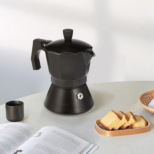 Portable Aluminum Moka Coffee Pot