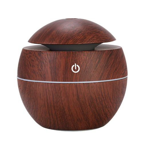 Aromatherapy Machine Essential Humidifier Home Quiet Bedroom 006 Brown