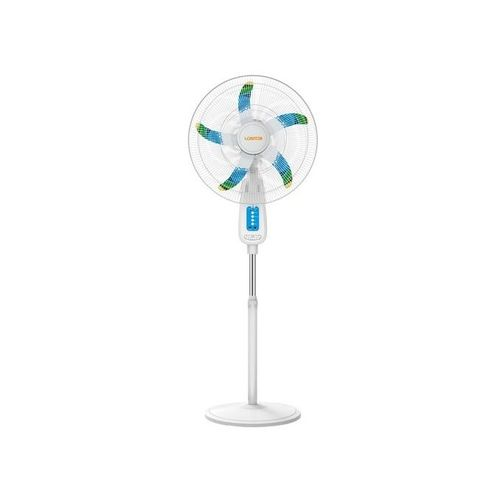 """Rechargeable Fan With USB And Remote - 18"""""""
