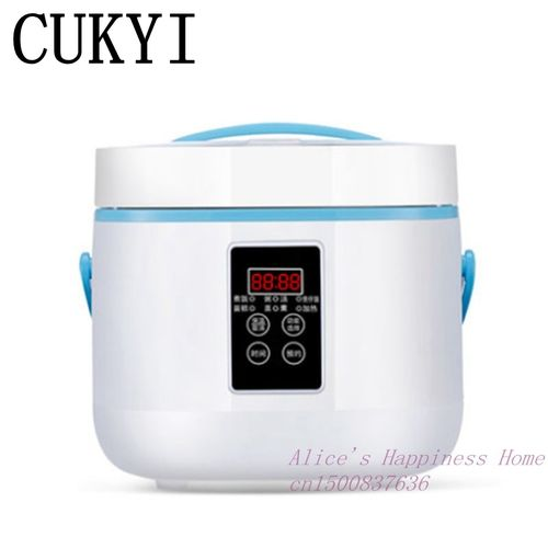 CUKYI Intelligent Electric Rice Cooker 3 L Household Automatic Mini Rice Cooker 2-5 Heat Preservation Cake Rice Cooking