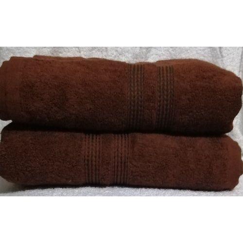 2 Set Of Extra Large Bath Towel - Brown
