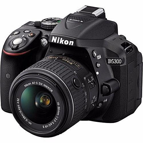 D5300 DSLR Pro Camera With AF-P 18-55mm Lens