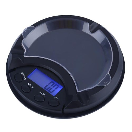 E Mini Ashtray Pocket Portable Jewelry Scale Electronic Weighing Scale Chinese Medicine Gold Platform Scale 500g/0.1g
