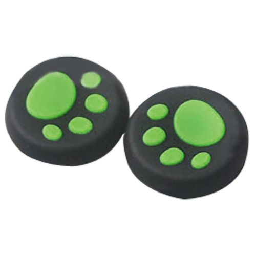 Durable 1 Pairs Cat's Paw Silicone Gel Thumb Grips Caps For Nintendo Switch Controller