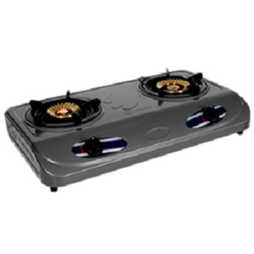 2 Burner Non-stick Table Top Gas Cooker