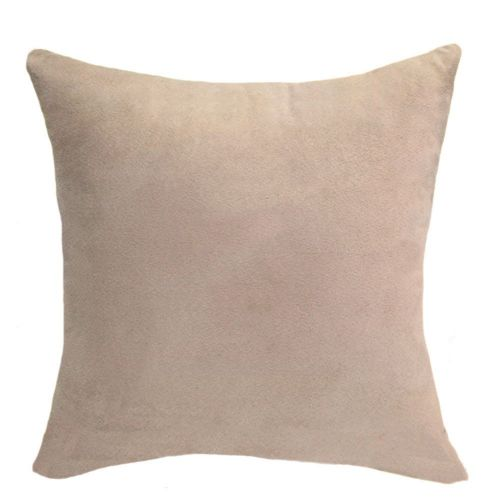 Mohap Set Of 2- Gray Pillowcases 65X65Cm Pillowcase With Microfibre Zipper Beige