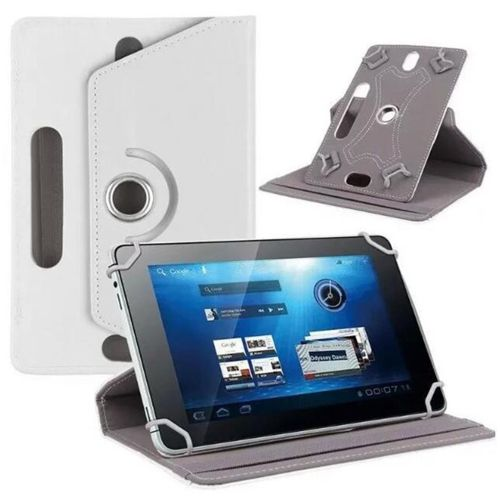 Case Leather Protector Durable 7 Inches 360 Degrees Rotation PU Leather Universal Protector