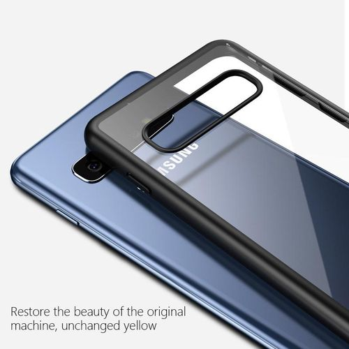 Xumu For Samsung Galaxy S10 S10 Plus Case Transparent Hard Back Cover Soft Silicone Frame For Samsung Galaxy S10 Phone Cover