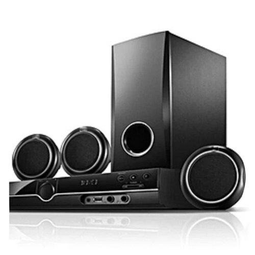 5.1 Channel Home Theater HT358 With Subbwoofer Good Quality - Black