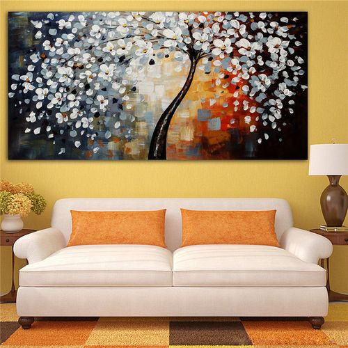 """MODERN ABSTRACT CANVAS ART WALL DECOR OIL PAINTING 24x48"""""""