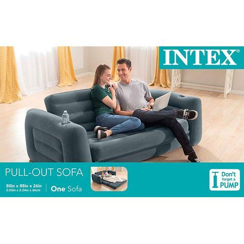 Improved Intex Double Pull Out Sofa With Electric Pump