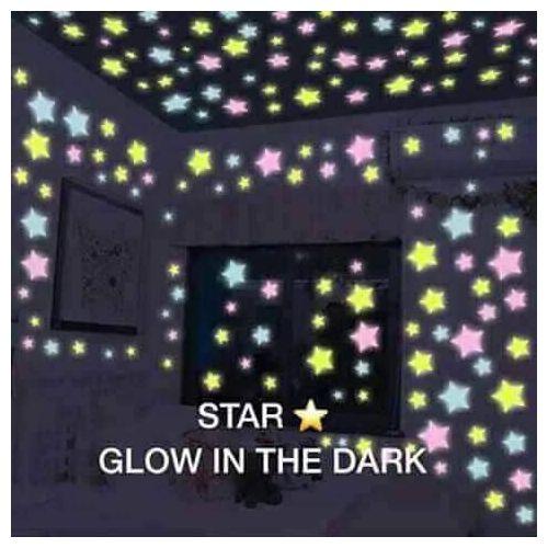 Illuminating Stars Glow In The Dark-100pcs