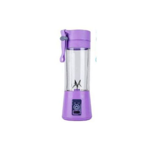 USB Rechargeable Blender Mixer - Purple 6 Blades