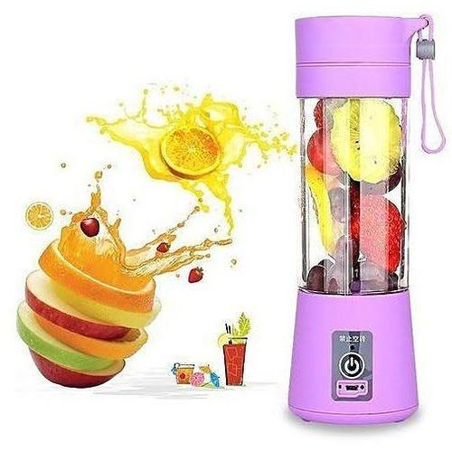 Rechargeable Smoothie Fruit Blender- 6 Blades
