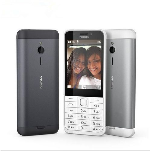Nokia 230 2.8 Inch Dual SIM 2MP QWERTY Keyboard Mobile Phone