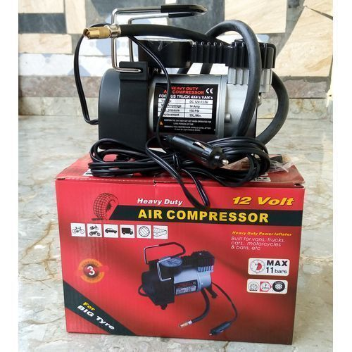 Mobile Car Tyre Pump/Air Inflator For Cars, Buses And Trucks