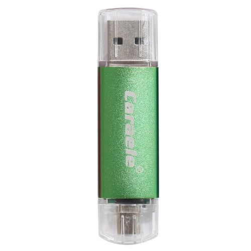 3 In 1 OTG USB Stick For Apple Android Computer Phone Different Capacity Green