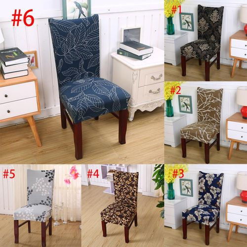 Elastic Stretch Chair Cover Seat Covers Spandex Washable Banquet Wedding Party #6