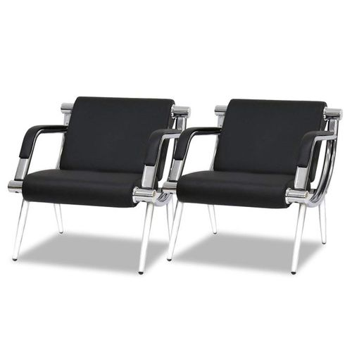 2PCS Office Reception Chairs Waiting Room