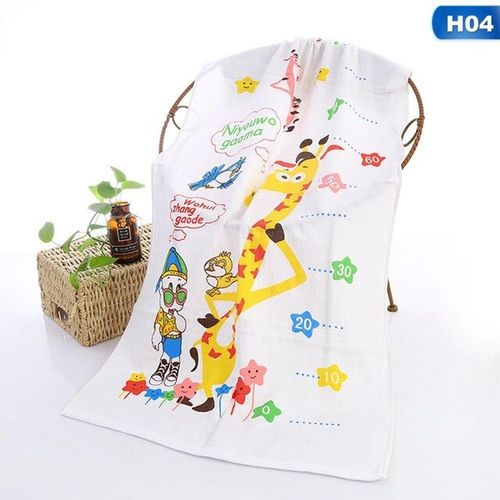 120x60cm Baby Towel Pure Cotton Children Face Towels