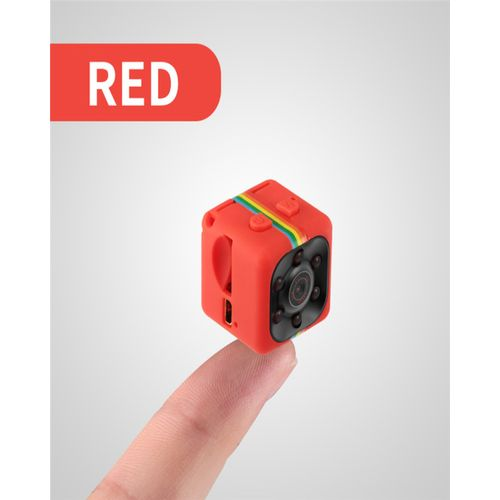 Mini Camera SQ11 HD Camcorder Night Vision 1080P Sports Mini DV Video Recorder - Red