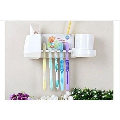 Toothpaste And Brushholder