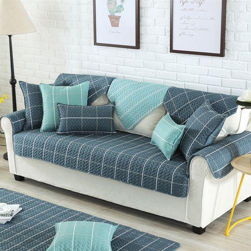 Nordic Style Magical Sofa-cover Corner Fabric Double Towel Sofa Cover Set Slip Cover Sofa Cover 90 X 160cm