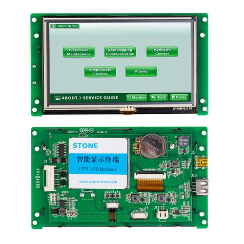 """5.0 """" Intelligent TFT LCD Display For Industrial Use"""