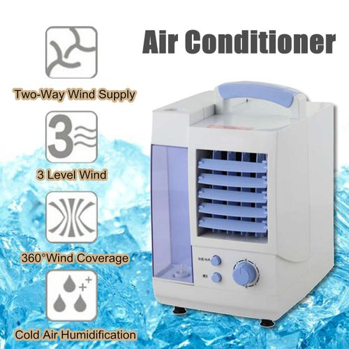 Portable Air Conditioner Conditioning Fan Humidifier Cooler Home Office Cooling