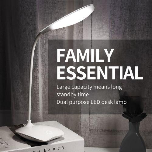 16 LED Lamp Beads Charging Energy Saving Table Lamp 3W
