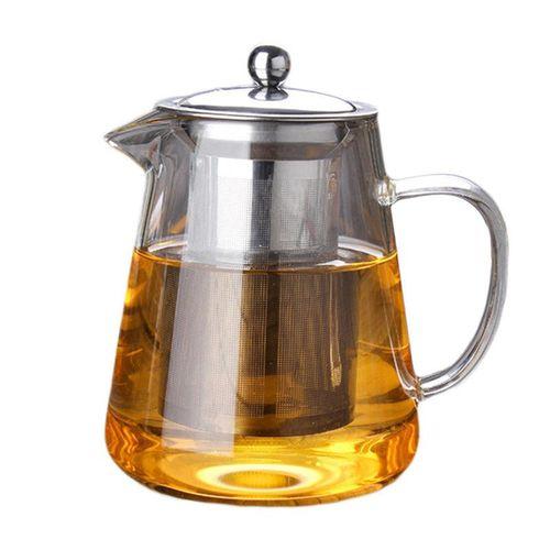 Heat-resistant Glass Teapot Set Tea Pot Cup Strainer Herbal