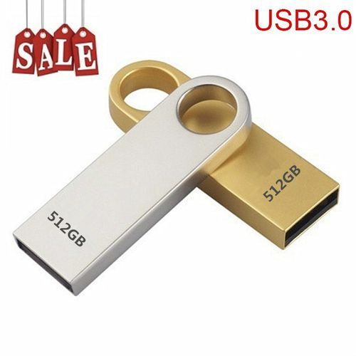 Hot Sale USB 3.0 Flash Drives Metal USB Flash Drives 512GB Pen Drive Pendrive Flash Memory USB Stick U Disk Storage