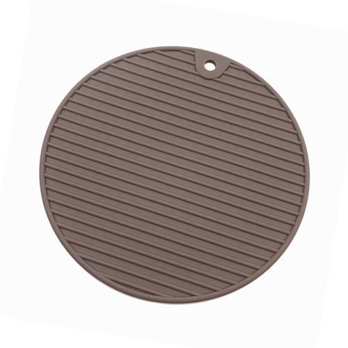 18*18 Cm Round Heat Resistant Silicone Mat Drink Cup Coasters Non Slip Pot Holder Table Placemat Kitchen Accessories Table Mats HIS