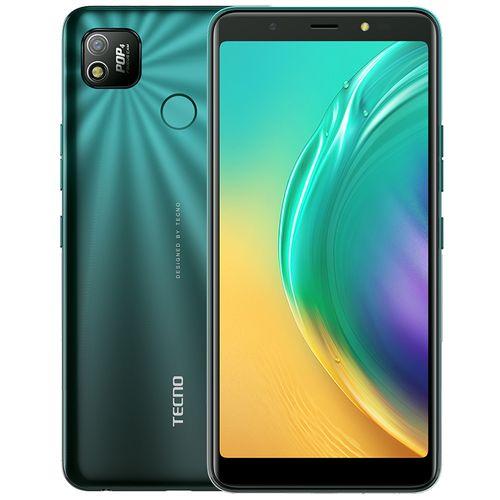 "POP4 (BC2) 6"" Big Screen, 2GB RAM + 32GB ROM, 5000mAh Battery, Android 10, 8MP + 5MP Camera, Fingerprint -IceLake Green"