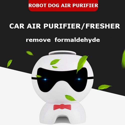 Touching Type Car Air Purifier Cute Dog Negative Ion Anion Remove Formaldehyde